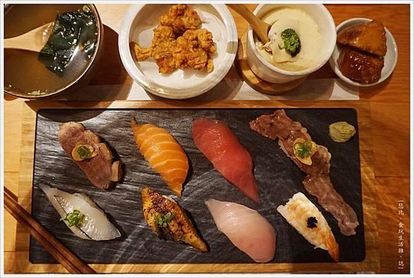 一笈壽司-119-綜合8貫套餐.JPG