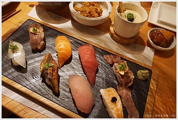 一笈壽司-131-綜合8貫套餐.JPG