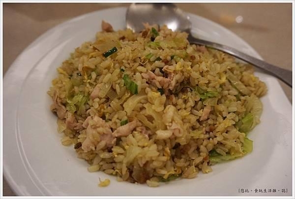 銅鑼灣文記港式餐廳-9-鹹魚雞粒炒飯.JPG