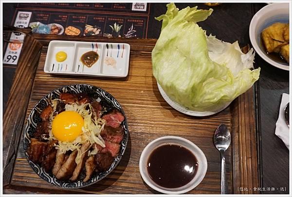 開丼-21-肉的三劍客丼.JPG