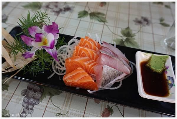 88號水碼頭餐廳-3-生魚片.JPG