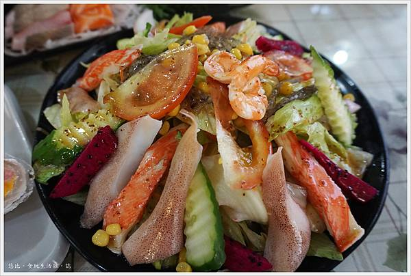 88號水碼頭餐廳-5-沙拉.JPG