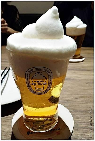 一鷺炭火燒鳥工房-25-KIRIN冰霜啤酒.jpg
