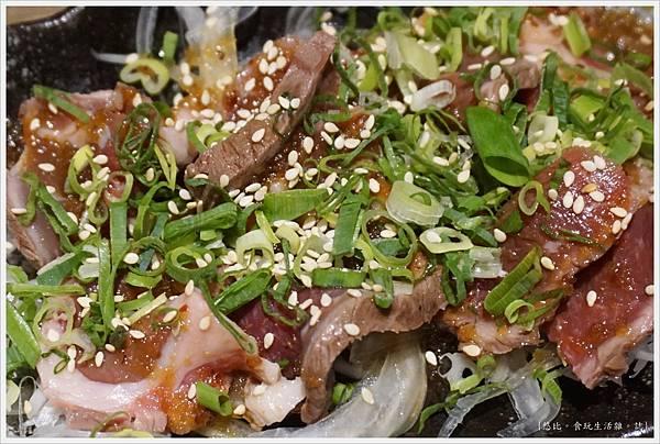 一鷺炭火燒鳥工房-33-雙人套餐極品炙燒生牛肉.JPG