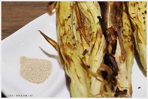 一鷺炭火燒鳥工房-37-奶油玉米筍.JPG