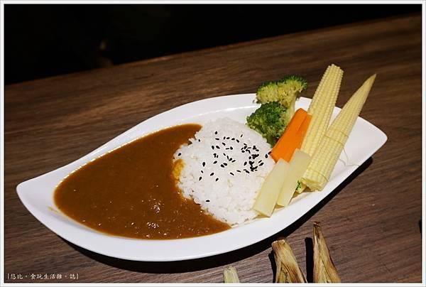 一鷺炭火燒鳥工房-38-雙人套餐鮮蔬咖哩飯.JPG