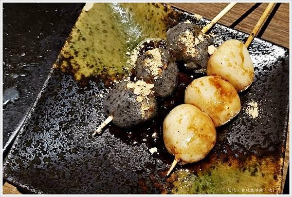 一鷺炭火燒鳥工房-52-雙人套餐和風烤團子.jpg