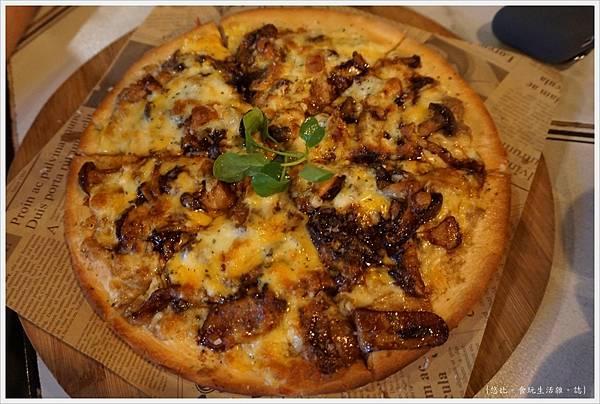 蘑菇Pasta-20-野菇PIZZA.JPG