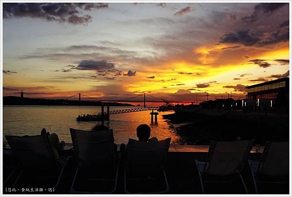 太加斯河-8-夕陽.JPG