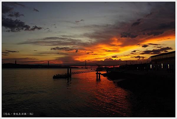 太加斯河-9-夕陽.JPG