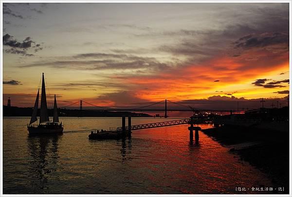 太加斯河-12-夕陽.JPG