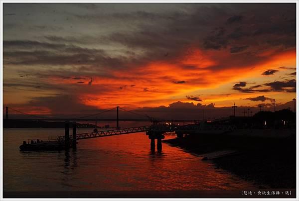 太加斯河-11-夕陽.JPG