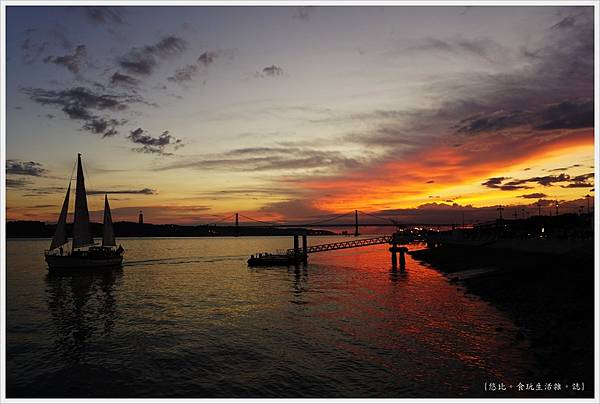 太加斯河-13-夕陽.JPG