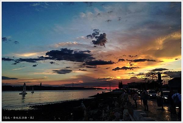太加斯河-15-夕陽.JPG