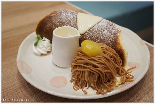 屋莎鬆餅-22-蒙布朗冰淇淋鬆餅.JPG
