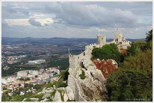 辛特拉-219-摩爾人城堡Castelo dos Mouros.JPG