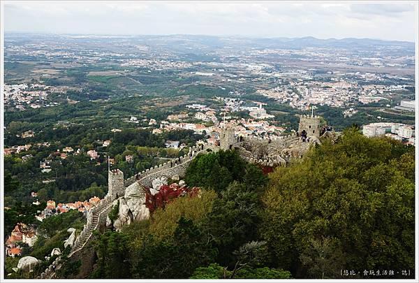 辛特拉-230-摩爾人城堡Castelo dos Mouros.JPG