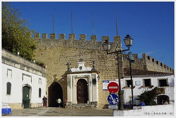 歐比多斯Obidos-6-城門.JPG