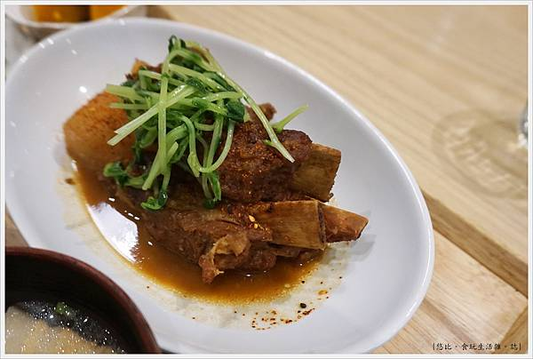 柚子-24-味噌燉蘿蔔排骨.JPG