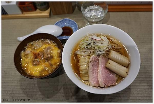 鴨to蔥-18-鴨拉麵+親子丼.JPG