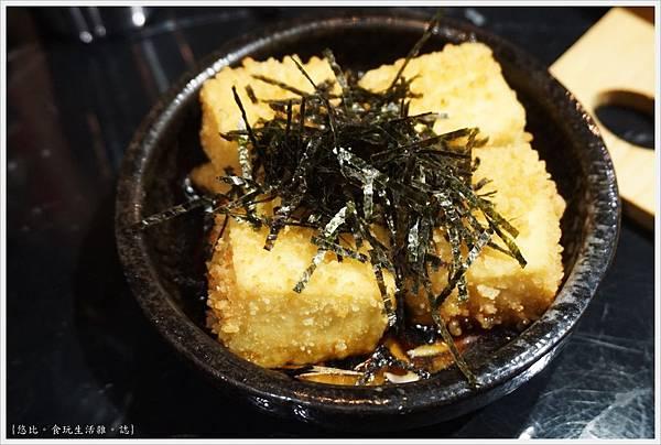 燒肉丼販-12-日式炸豆腐.JPG