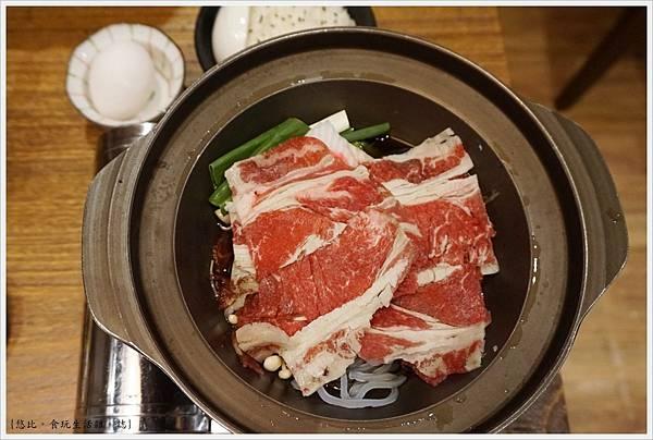 八庵-28-雙主餐套餐黑牛壽喜燒.JPG