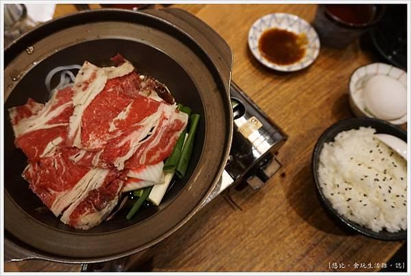 八庵-29-雙主餐套餐黑牛壽喜燒.JPG