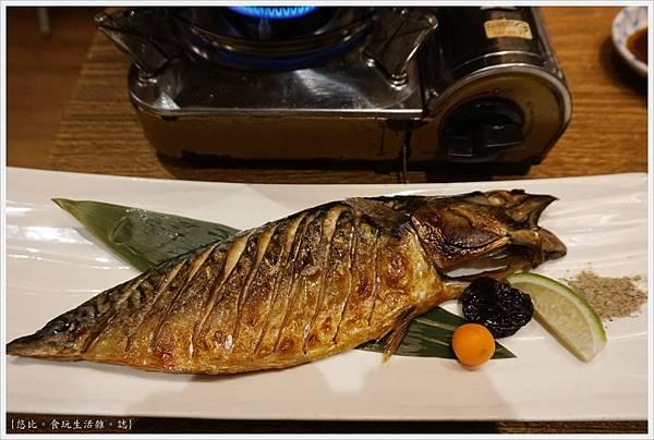 八庵-32-雙主餐套餐季節烤魚.JPG