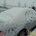 snow covered my car