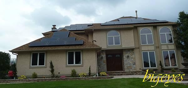 發電用的太陽光收集板