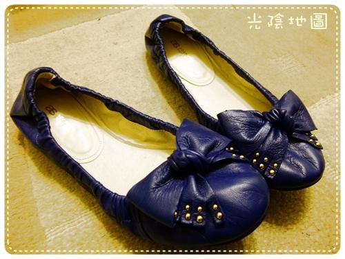 20100307湯圓的羊皮新鞋.jpg
