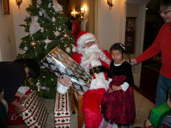 Xmas with Santa-K