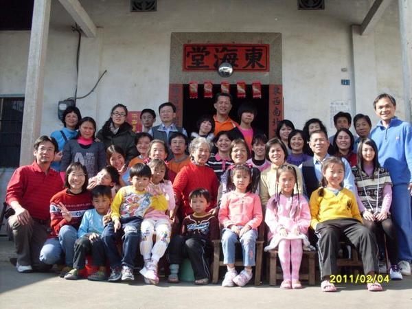 苗栗大湖的東海棠大家庭