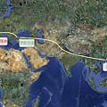 CYT Pilgrim Tour Map 2011