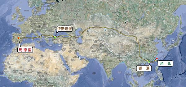 CYT Pilgrim Tour Map 2011_002