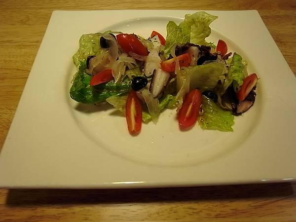 海風章魚沙拉