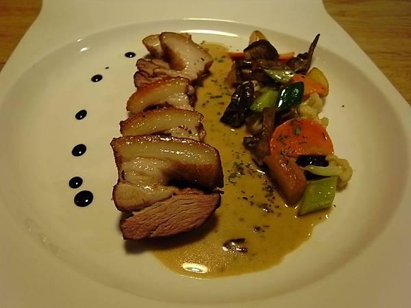 奶油錦菇豬肉