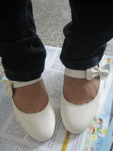 今天是鞋鞋試穿大會