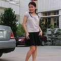 東京著衣公主袖+korsica蓬蓬裙+amai魚口鞋