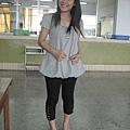 korsica可愛小洋裝+korsica內搭褲(有口袋的喔)+AS鞋子+korsica愛心項鍊