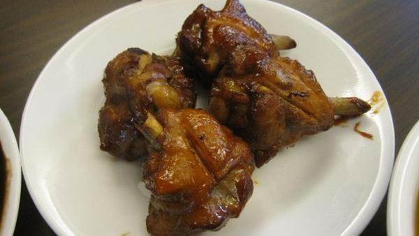 配菜類二號--照燒醬烤小雞腿(已經滷過)
