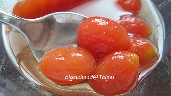 開胃菜一號--冰釀蕃茄