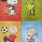 Snoopy,Woodstock,Charlie Brown,Linus Van Pelt