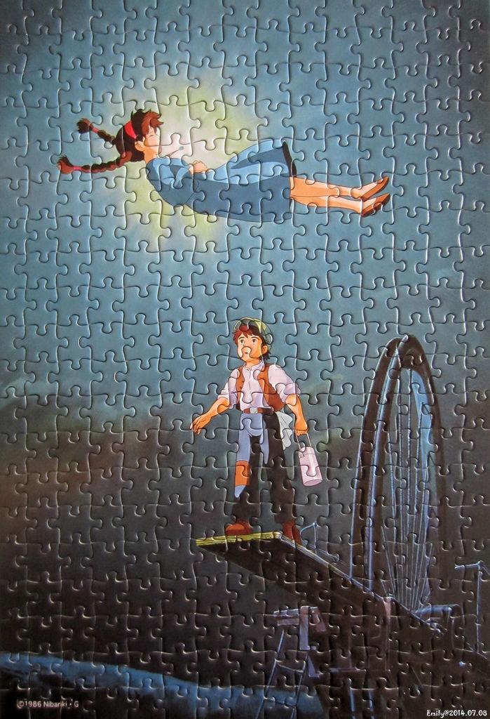 《艾‧拼圖-260》天空の城ラピュタ~空から降りてきた少女﹝Artbox﹞300pcs.jpg