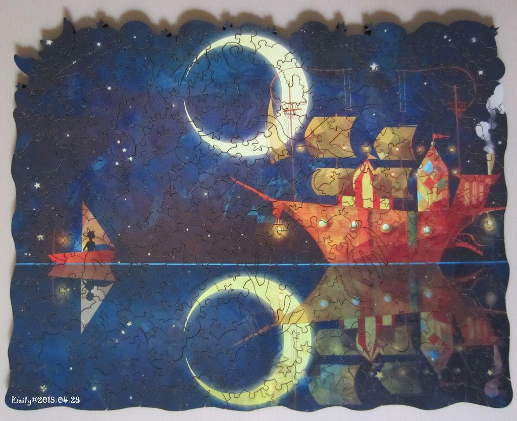 《艾‧拼圖-347》Night Ship.jpg