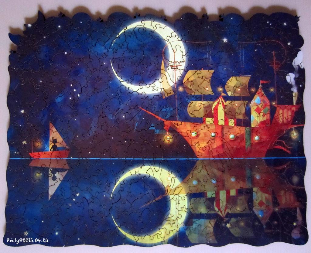 《艾‧拼圖-347》Night Ship-1.jpg