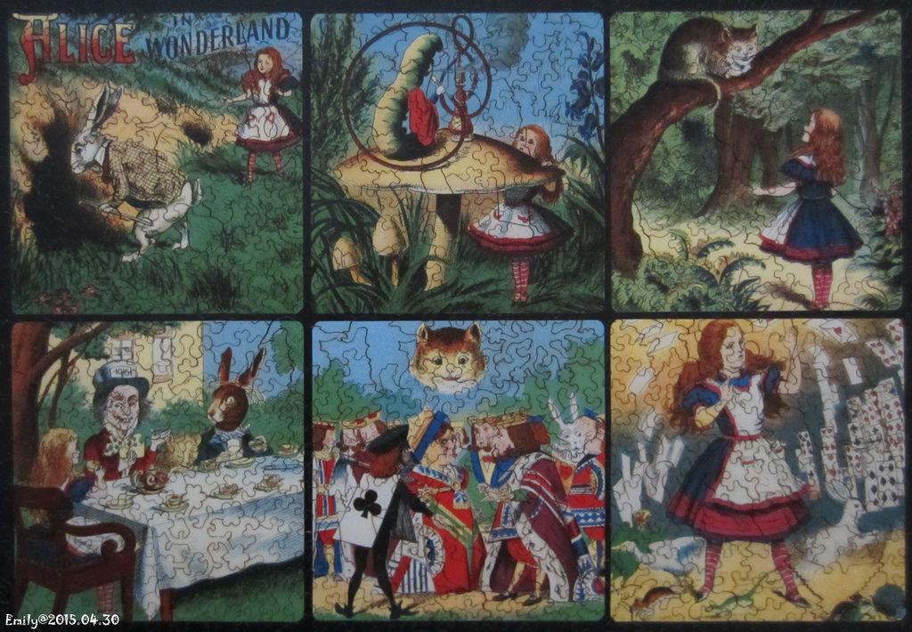 《艾‧拼圖-348》Alice in Wonderland collage.jpg