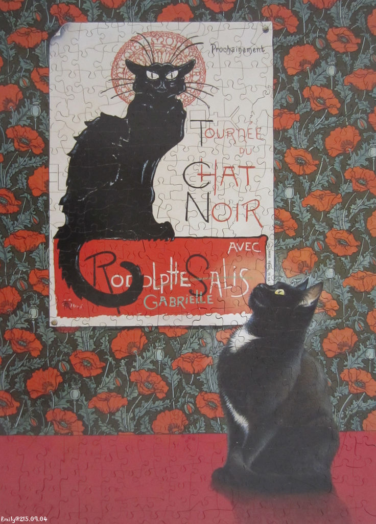 《艾‧拼圖-374》Gabrielle and the Nouveau Poster.jpg