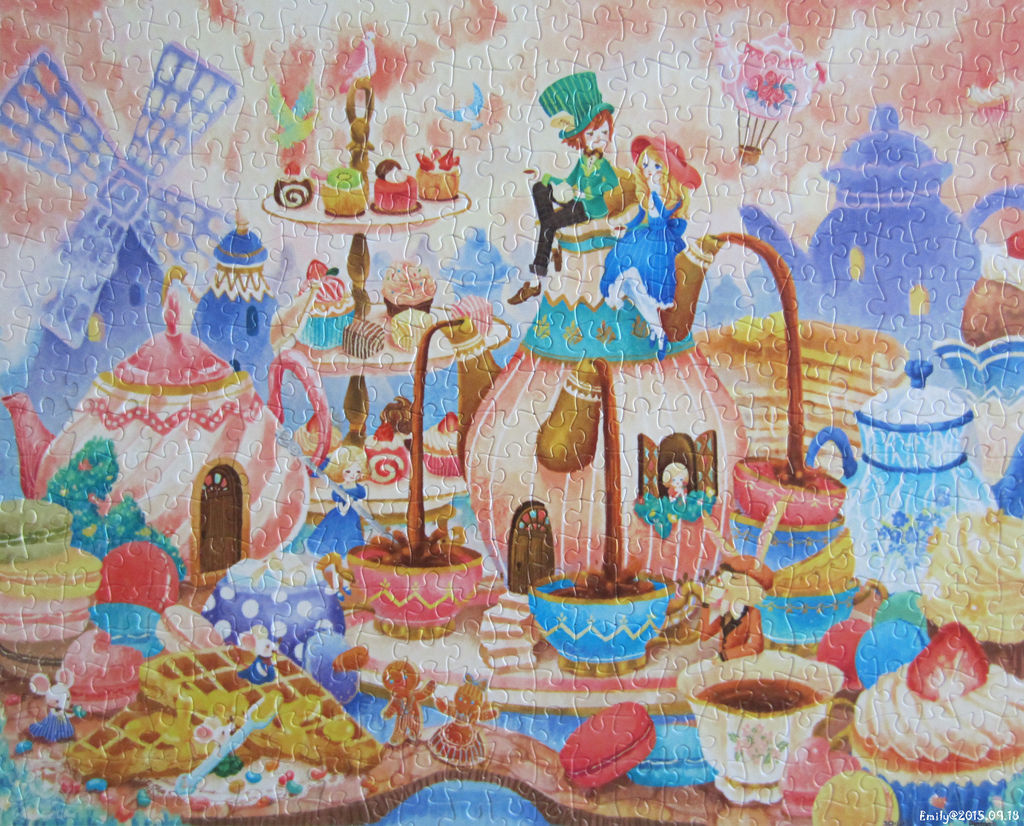 《艾‧拼圖-379》Alice in Wonderland-Tea Time.jpg