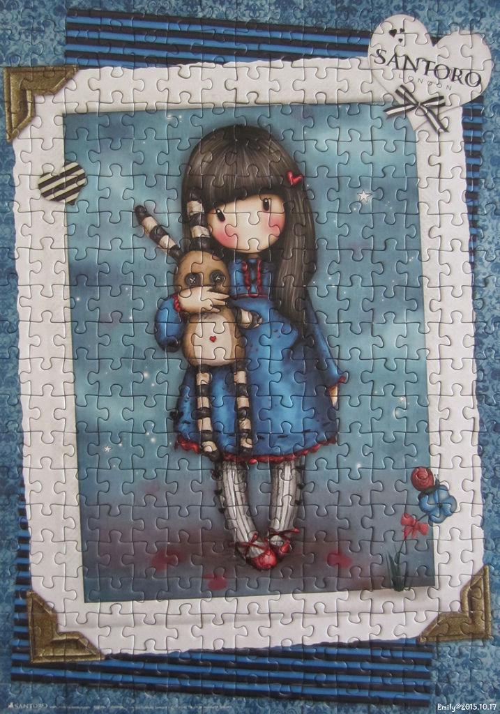 《艾‧拼圖-398》Gorjuss-Hush Little Bunny.jpg